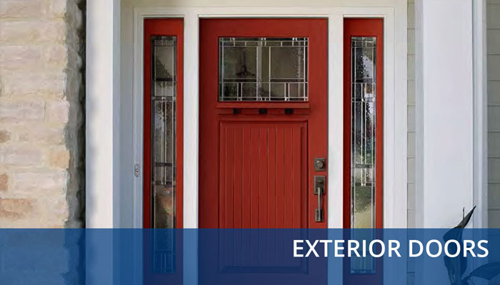 exterior doors button